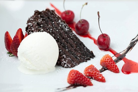 H Restaurant : Chocolate Cake
