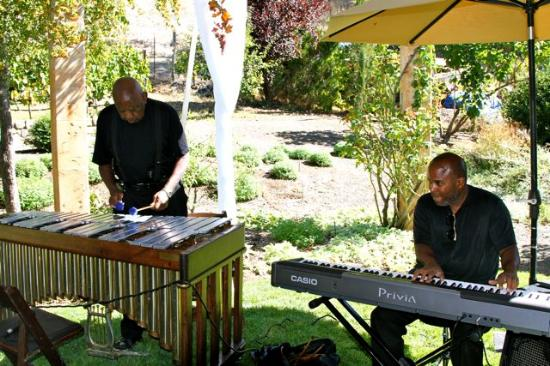 Laura Michael Wines - Zahtila Vineyards: Herb Gibson and friends performed relaxing jazz music
