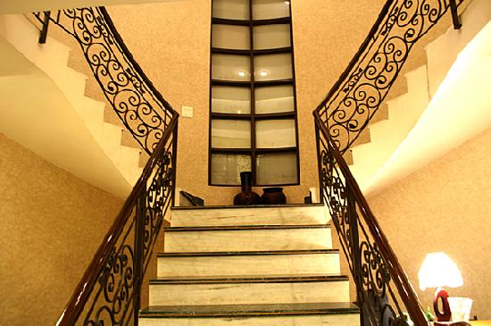 Gamma Hospitality: Stairs to First Floor