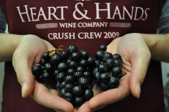 Heart & Hands Wine Company: Our wines are handcrafted with a commitment to excellence.