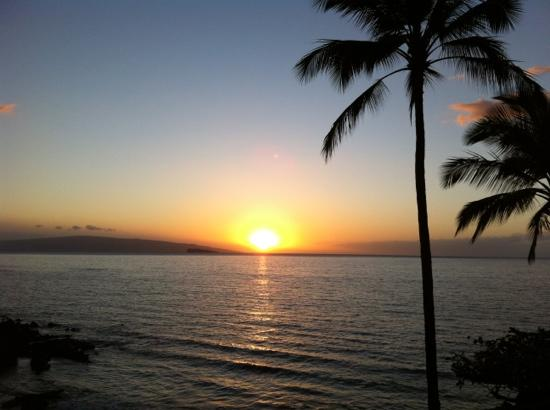 Makena Surf : sunset