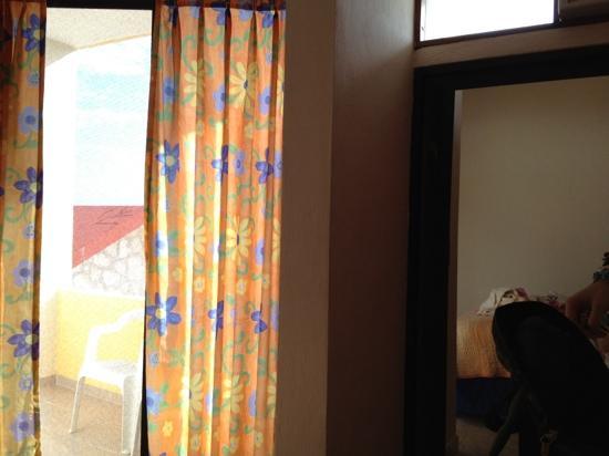 Hotel Ojo De Agua: balcony - mini