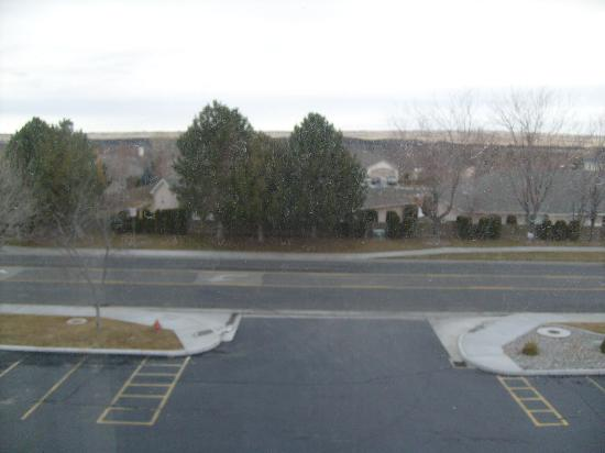 """Quality Inn & Suites: Looking north from 3rd floor in biulding """"A"""""""