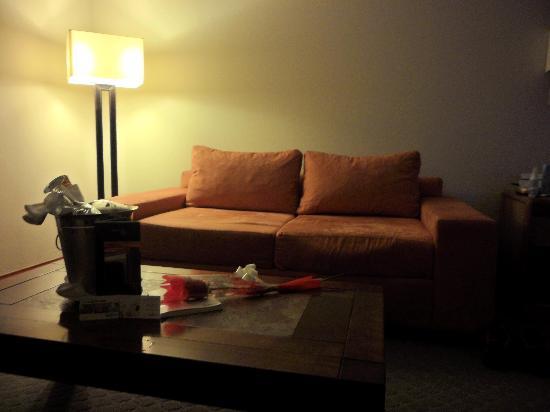 NH Iquique: el living del cuarto