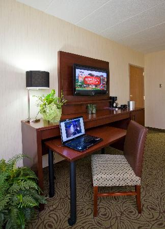 Ho-Chunk Casino Hotel and Convention Center: Luxury Room