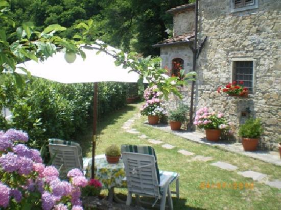B&B Campomaggio : giardino