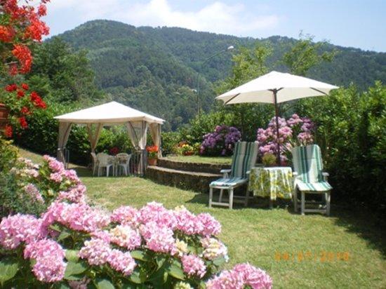 B&B Campomaggio: giardino
