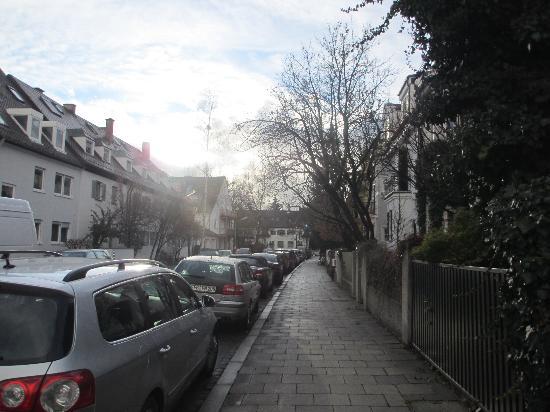 Pension Lutz: The neighborhood.