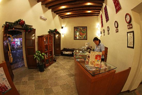 Hotel Casa Conzatti: Reception