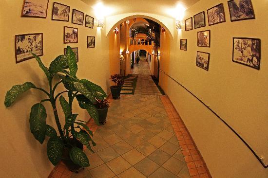 Hotel Casa Conzatti: Corridor