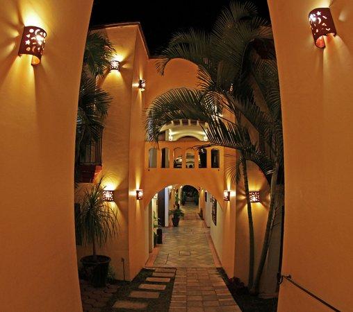 Hotel Casa Conzatti: Corridor / yard