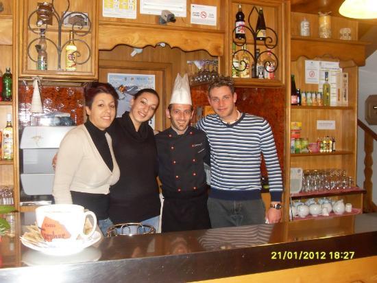 Hotel Al Sole: FOTO CON IL CUOCO!