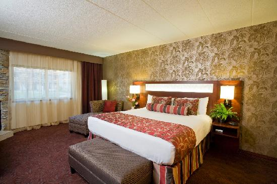 Ho-Chunk Casino Hotel and Convention Center: Executive Suite Bedroom