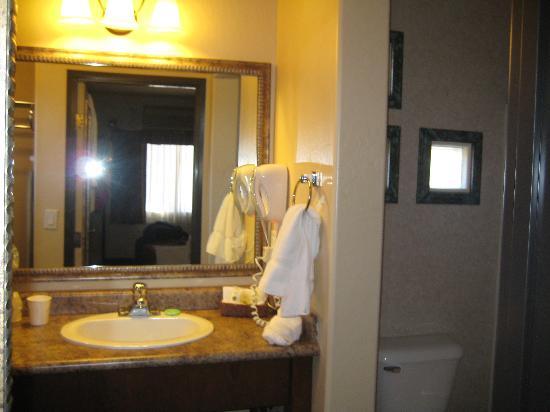 Sedona Real Inn and Suites: Kitechen/bathroom