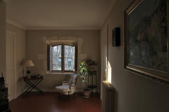 La Laure: A l'entrée des chambres