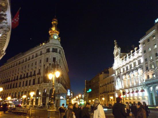 casino de madrid y edificio banesto en calle alcala
