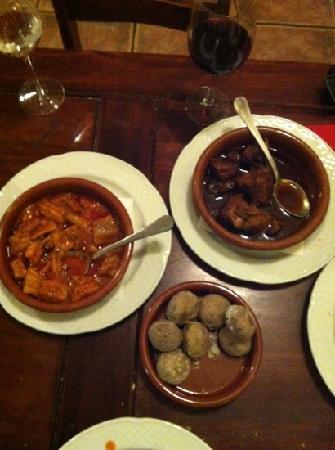 Meson Galeon Canario: typische spaanse gerechten!! heerlijk