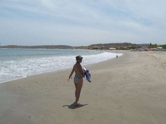 Las Palmeras de Punta Sal : Una parte La Playa Punta Sal en Tumbes