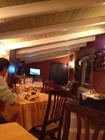 Hotel Torre del Moro: cena rustica