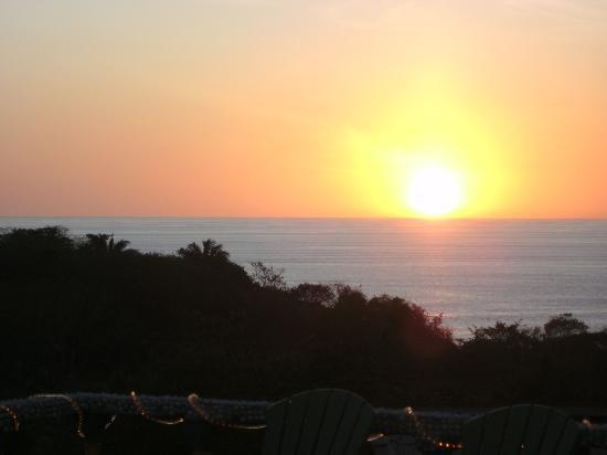 Brovilla Resort Hotel Restaurant: Sunset Jan 2012