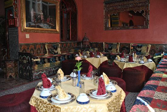 dining room - picture of moroccan house hotel, marrakech - tripadvisor