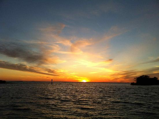 Nature Coast Inn: Sunset on the Gulf of Mexico