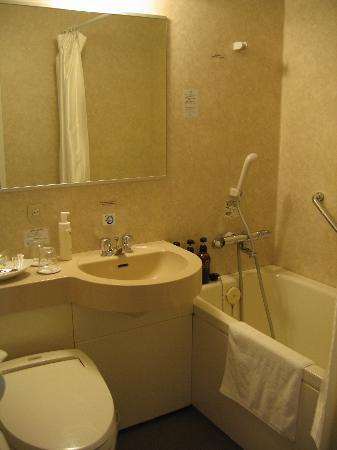 Richmond Hotel Hakata Station-Side: Bathroom.