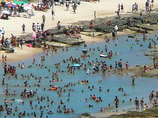 Gaibu Beach: Protected Pools at Gaibu are packed weekends and holidays