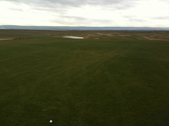 Walla Walla, WA: Wind picks up in Winter (20-40mph), but that's what makes this course so fun!