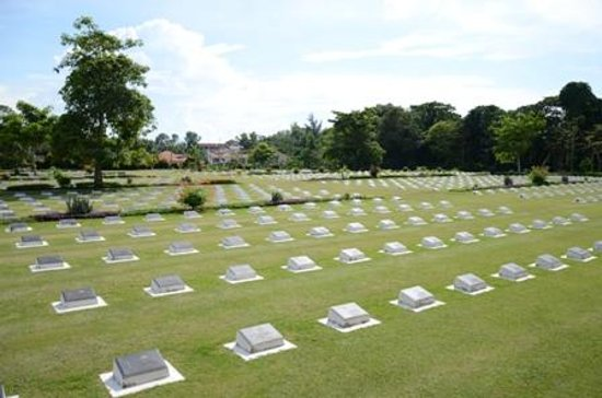 Labuan War Cemetery: Another View