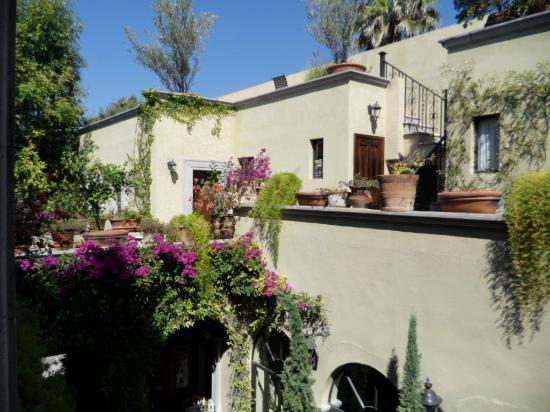 Casa Misha: vista de la terraza