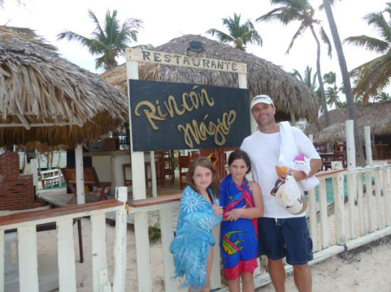 El Rincon Magico: Rincon Magico ,desde la playa