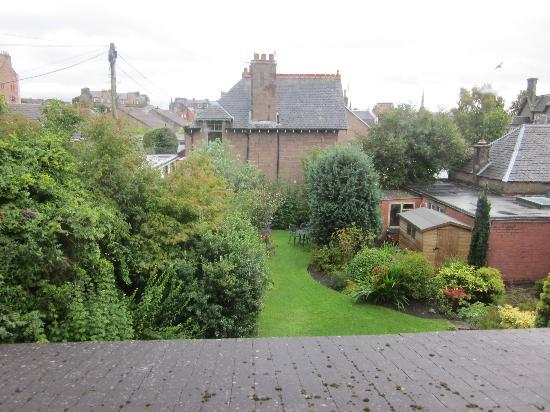 Shaftesbury Lodge: The rear garden
