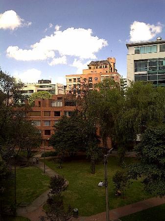 Hotel Parque 97 Suites: vista desde habitacion