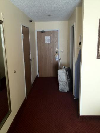 Quality Inn : entry way