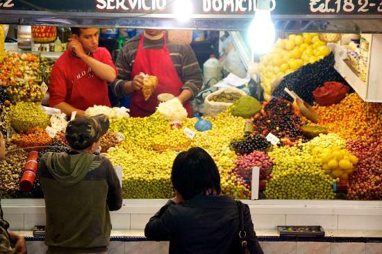 Medina of Tangier : Olive Market in the Medina