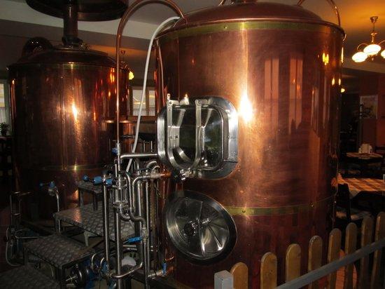 Svatovaclavsky Pivovar: Beer brewing