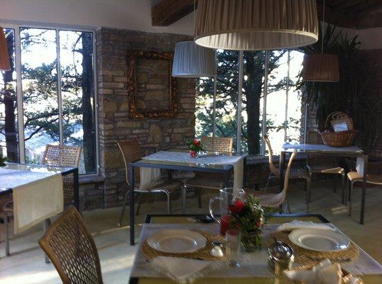 Relais Casamassima: sala colazioni