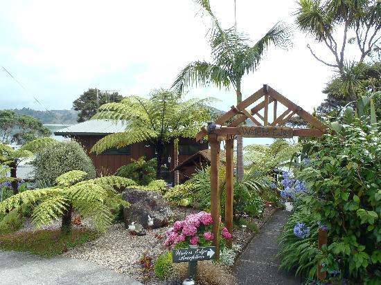 Waters Edge Holiday Accommodation: outside the studio