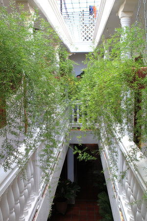 Hotel Casa Baluarte: second fl hallway