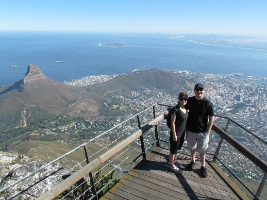 The Cape Town Tour Guide Co.: On top of Table Mountain