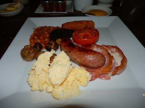Deddington Arms Hotel: Great breakfast!