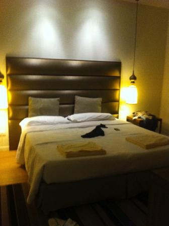 Hotel Bristol Buja: Camera junior suite, zona notte