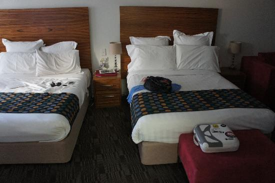Cambridge Hotel Sydney: Ruhiges Zimmer aufgeräumt
