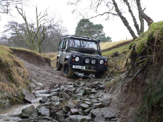 Coves House and Weardale Outdoor Centre: Offroad Driving