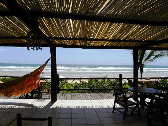 Aldeia da Mata Eco-Lodge : the deck