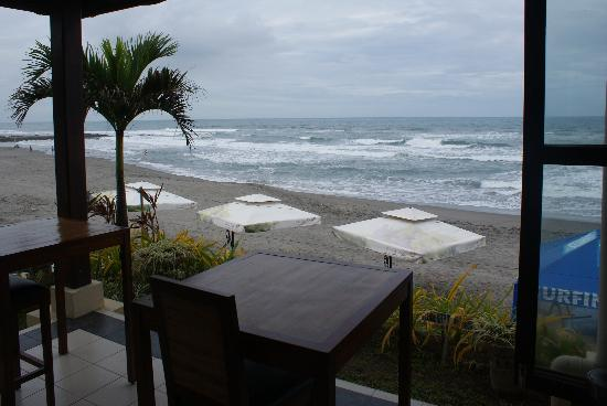 Kahuna Beach Resort and Spa: the view from the restaurant