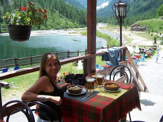 Macugnaga, Italie : ristorante
