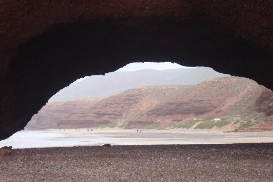 Пляж Легзира: arcade