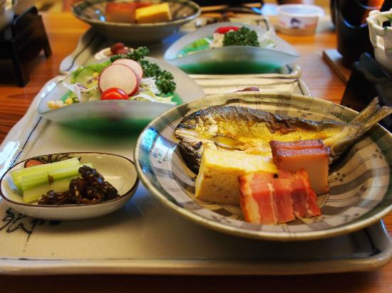 Taishoukaku: 朝食